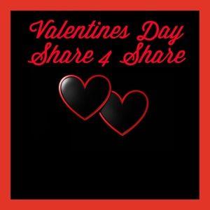❤️VALENTINES DAY SHARE 4 SHARE❤️